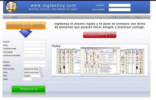 Curso de ingles on-line