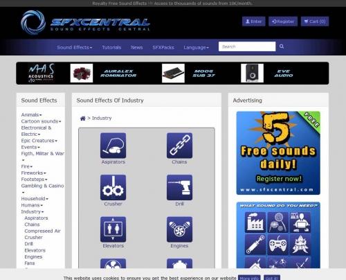 Diseño de páginas web con e-comerce. Sound-Graph